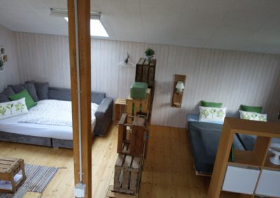 "Einrichtung Bed and Breakfast ""Gardenloft"""