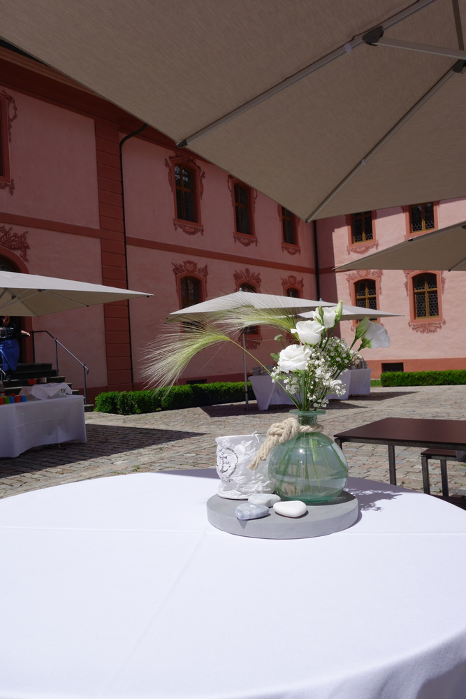 Stilvoller Rahmen für den Hochzeits-Apéro