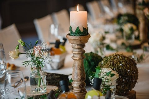 Detail Hochzeitstisch M&C - Foto by Alexandra Rätzer Photography
