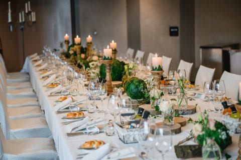 Tischdekoration kreationell - Foto by Alexandra Rätzer Photography