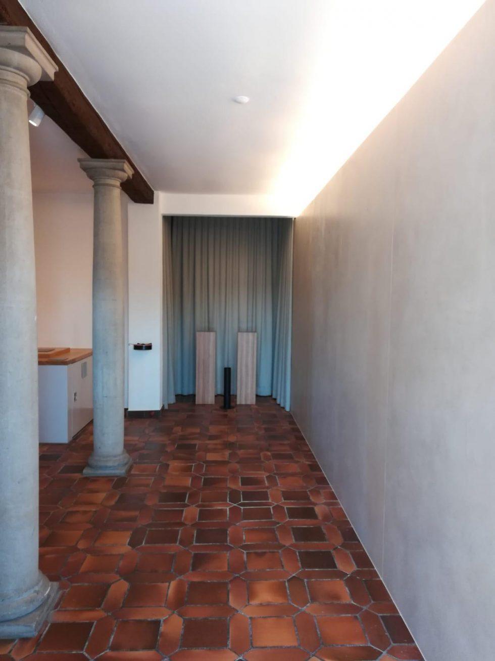 Gestaltungskonzept von kreationell - Aufbahrungsraum Hochdorf