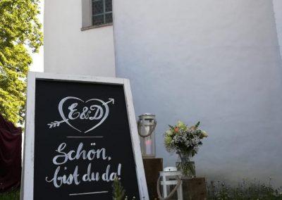 Willkommen zur Hochzeit von E&D!