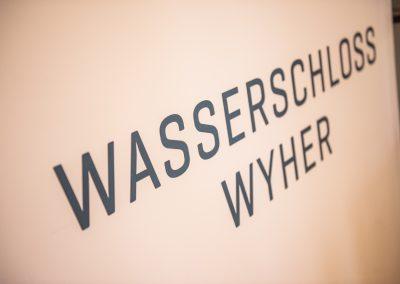 Die Location: das Wasserschloss Wyher