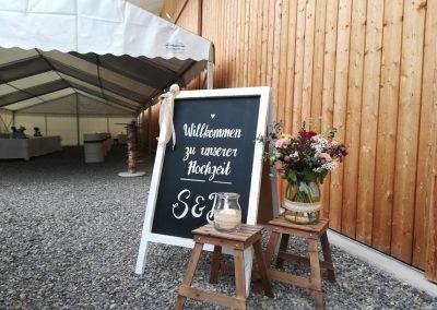 Willkommen zur Hochzeit auf der Birkenranch